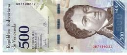 Venezuela P.94b 500   Bolivares 23-03-2017 Unc - Venezuela