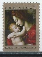 USA. Scott # 5331 MNH.  Madonna & Child Chtistmas. 2018 - Christianity