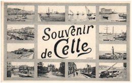 34 Souvenir De CETTE - Sete (Cette)