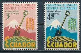 °°° ECUADOR - Y&T N°400/1 - 1963 MNH °°° - Ecuador