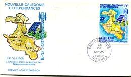 Nouvelle Calédonie - FDC Yvert 424 Lifou - X 964 - FDC