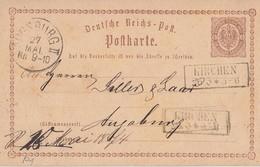 DR Ganzsache R2 Kirchen 26.5. - Briefe U. Dokumente
