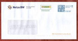 Brief, Netze BW, FRANKIT Pitney Bowes 4D131.., Ohne Firmenklischee, 70 C, 2018 (72242) - [7] Repubblica Federale