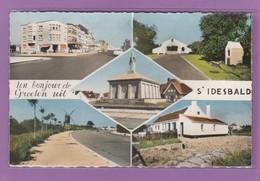 UN BONJOUR DE/GROETEN UIT  ST. IDESBALD VERS 196? - Belgique