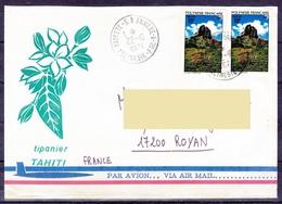 "Polynesie Lettre 096 - 1974 ""RP Annexe 1 - Polynesie FSE"" En France - Polynésie Française"