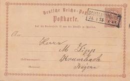 DR Ganzsache R2 Schalksmühle 24.1.75 - Briefe U. Dokumente