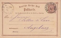 DR Ganzsache K2 Elberfeld Bhf.12.1.74 - Briefe U. Dokumente