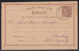 DR Ganzsache K2 Sonneberg 28.7.74 - Briefe U. Dokumente