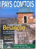 PAYS COMTOIS N° 59 BESANCON Ville Et Vauban , Sochaux Montbeliard  Ville Foot Usine - Tourismus Und Gegenden