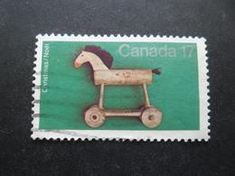 Canada N°718 CHEVAL EN BOIS Oblitéré - Autres