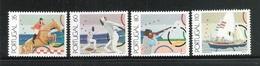 PORTOGALLO -1991: 4 Valori Nuovi Stl Dedicati Allo SPORT -.DISCIPLINE OLIMPICHE - In Ottime Condizioni. - Giochi Olimpici