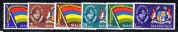 CI693 - MAURITIUS 1968 , Serie Yvert N. 311/316  ***   (2380A) . - Mauritius (...-1967)