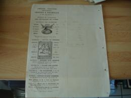 1877 Librairie Grosset Et Tremblay Geneve Extrait Catalogne Facture - France