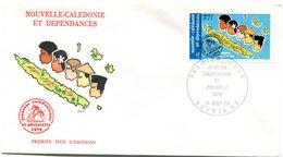 Nouvelle Calédonie - FDC Yvert PA 197 Philatélie - X 975 - FDC