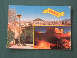 "Greece 1984 Postcard "" Athens "" To England - The Blinding Of Polyphemus - Greece"