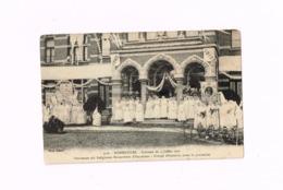 Bonsecours.Souvenir Du 4 Juillet 1910.Expédié De Condé-sur-Escaut à Bruay-sur-Escaut. - Péruwelz