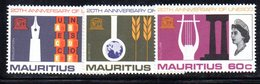 CI704 - MAURITIUS 1966 , Serie Yvert N. 289/191  ***   (2380A) .  Unesco - Mauritius (...-1967)