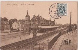 HALLE - HAL De Statie - La Gare - Halle