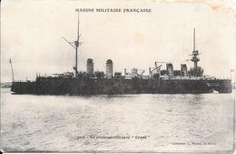 CPA-1930-MARINE-NATIONALE--CROISEUR CUIRASSE-CONDE -BE - Guerre