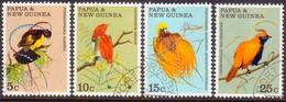 PAPUA NEW GUINEA 1970 SG #173-76 Compl.set Used Birds Of Paradise - Papoea-Nieuw-Guinea
