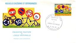 Nouvelle Calédonie - FDC Yvert 439 Protection Routière - X 985 - FDC