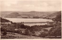 CPSM Rare, Lake Vyrnwy 204582, Barrage - Montgomeryshire