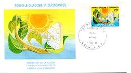 Nouvelle Calédonie - FDC Yvert 442 Protection De La Nature - X 988 - FDC