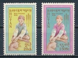 °°° BHUTAN - Y&T N°17/18 - 1963 MNH °°° - Bhutan