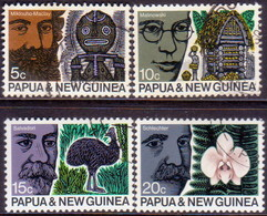 PAPUA NEW GUINEA 1970 SG #183-86 Compl.set Used ANZAAS Congress - Papua Nuova Guinea