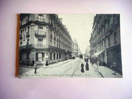 CPA 44 NANTES LA RUE DE STRASBOURG ET L' HOTEL DE BRETAGNE - Nantes