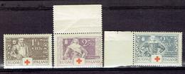 P 204 - Serie 176-178 MNH Suomi-Finlande 1934 - Finlande