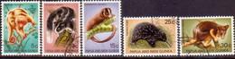 PAPUA NEW GUINEA 1971 SG #195-99 Compl.set Used Fauna Conservation - Papoea-Nieuw-Guinea