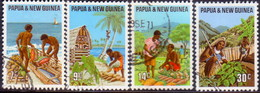 PAPUA NEW GUINEA 1971 SG #204-07 Compl.set Used Primary Industries - Papua New Guinea