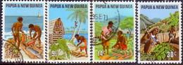 PAPUA NEW GUINEA 1971 SG #204-07 Compl.set Used Primary Industries - Papua Nuova Guinea