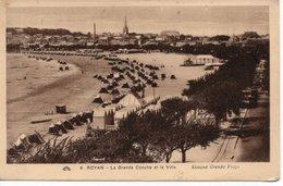 ROYAN - LA GRANDE CONCHE ET LA VILLE - Royan