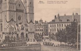 57 - METZ - INAUGURATION DU NOUVEAU TEMPLE PAR LE KAISER - Metz