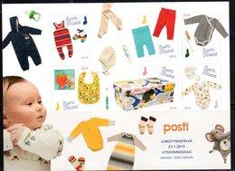 FINLAND, 2019, MNH, CHILDREN, BABIES, MATERNITY BOX, SHEETLET - Childhood & Youth