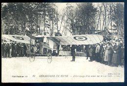 Cpa Du 88  Gerardmer En Hiver -- Atterrissage D' Un Avion Sur Le Lac Gelé   MA2 - Gerardmer