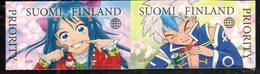 FINLAND, 2019, MNH, JAPANESE INFLUENCES, CARTOONS, 2v - Autres