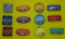 Fève - Série Complète -  Bracelets Prénom - Bracelet Décor Tortue - Bracelet Décor Salamandre - Fèves
