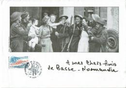 1994 - 50e Anniversaire De La Bataille De Caen - Cachet Commémoratif Sur Tp N° 2887 - Enveloppe + Carte - Cachets Commémoratifs