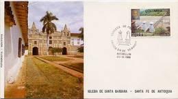 Lote 1547F, Colombia,1981, SPD-FDC, Puente De Occidente, Rio Cauca, River, Bridge, Jose Maria Villa - Colombia