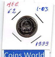 MEC 62 / - Republica De Angola - / 1 Kwanza 1999 / - L-03 - Angola