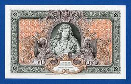 France - E. Desfossés - King Louis XIV 300 Years 1938 Very Rare Specimen Test Note Unc- - Fictifs & Spécimens