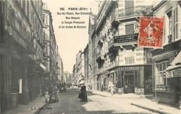 75 , XIV , Rue De L'Ouest , Chatelain , Desprez Et Temple Protestant , * LC 376 84 - Arrondissement: 14