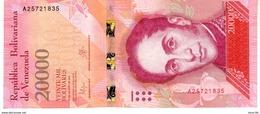 Venezuela P.99  20000   Bolivares 18-08-2016 A-unc - Venezuela