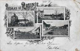 Rasinja 1902. Circulated - Koprivnica - Croatia - Croatia