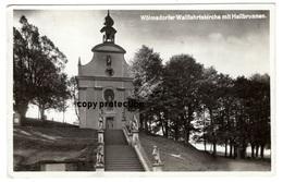 Wölmsdorf, Wallfahrtskirche Mit Heilbrunnen, Vilemov U Sluknova, Foto Postkarte 1939 Und Foto - Tchéquie