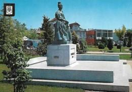Portugal V.N.Famalicão Monumento à Rainha D. Maria II  Reine Queen Postcard - Portugal