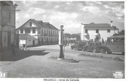 Portugal Melgaço Largo Da Calçada Bomba Gasolina Pompe à Essence Gasoline Pump Postcard PB Circulado Voyagé Traveled - Portugal